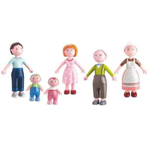 Haba Biegepuppen Little Friends Eltern, Großeltern und Babys