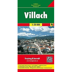 Freytag & Berndt Stadtplan Villach; Villaco - Buch