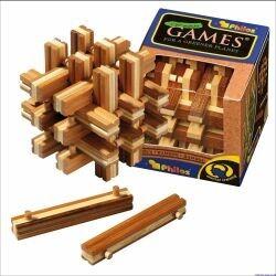 Philos 6059 - Lock Up Puzzle Bambus
