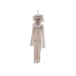 EUROPALMS Dekofigur Halloween Puppe, 90cm - Hängende Figur mit blutigen Augen