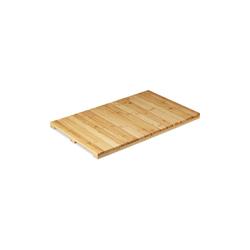 Badematte Bambusmatte für Bad relaxdays