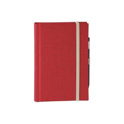 memo Skizzenbuch Leinen A5, (B 130 X H 202 mm) rot, 176 Seiten, Zeichenband,...