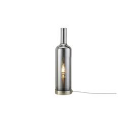Glastischleuchte in Flaschenform ¦ grau Ø: 10