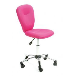 Inter Link Schreibtischstuhl Kinderstuhl Kinderdrehstuhl MALI in Mesh pink