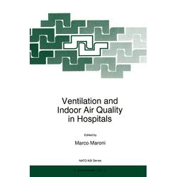 Ventilation and Indoor Air Quality in Hospitals als Buch von