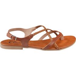 Sandale geflochten, Gr. 40 - 40