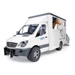 Bruder® Spielzeug-Landmaschine Mercedes Benz Sprinter Tiertransporter