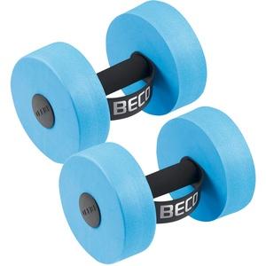 BECO AquaHantel M Paar für Aqua Fitness, Aquajogging und als Schwimmhilfe