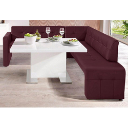 exxpo - sofa fashion Eckbank rot