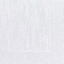DUNI Servietten, 40 x 40 cm, 4-lagig, weiß, Geprägtes Mundtuch mit 1/4 Falz, 1 Karton = 6 x 50 Stück = 300 Stück