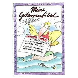 Meine Gitarrenfibel  Lehrerheft. Heinz Teuchert  - Buch