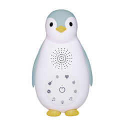 ZAZU Zoe - Die Pinguin Bluetooth Musikbox mit Nachtlicht blau