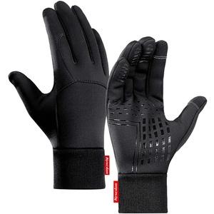 Comie wasserdichte Handschuhe, Warme Winter Motorrad Handschuhe rutschfeste Thermohandschuhe Winter Warm Beheizter Handwärmer für Dicke Winterwärmer (XL)