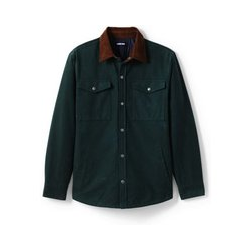 Moleskin-Hemdjacke - XL - Grün