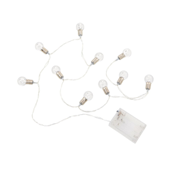BUTLERS MINI BULBS LED Mini-Glühbirne Lichterkette 10 Lichter