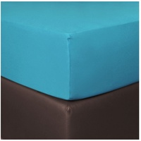 BETTWARENSHOP BETTWARENSHOP, Boxspring, Matratzen blau 90-100 cm x 190-220 cm