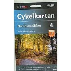 Nordöstra Skåne 1:90 000 - Buch