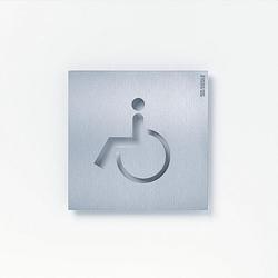 Siedle OSP 0009 Orientierungsschild Rollstuhlgerecht (200032625-00)