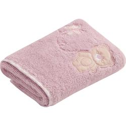 Vossen Handtuch Teddy (2-St), mit niedlicher Stickerei rosa