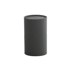 Zeller Present Messerblock Messerblock mit Borsteneinsatz schwarz