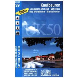 Kaufbeuren 1 : 50 000 (UK50-39)