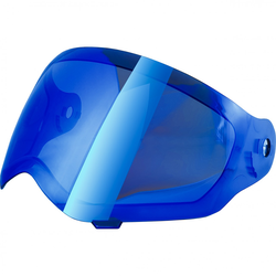 Broken Head Visier BLAU verspiegelt für Enduro VX2 | Jack.S VX2 | Fullgas Vik...