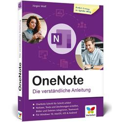 OneNote als Buch von Jürgen Wolf