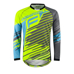 FORCE Radtrikot Downhill Jersey Loose Fit S