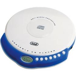 Trevi CMP 498 portabler CD-Player mit MP3 - weiß