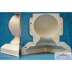 Kugelform AL-K1 29cm hoch 17cm Kugel Durchmesser Form für Betonkugel
