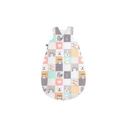 Julius Zoellner Sommerschlafsack mit Muster Memory, 50 cm