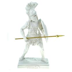 Kremers Schatzkiste Dekofigur Alabaster Figur Spartan 20 cm