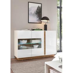 INOSIGN Sideboard CLAiR Sideboard 51, Breite 138 cm weiß
