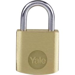 YALE Y110B/20/111/1 Vorhängeschloss 20mm Schlüsselschloss