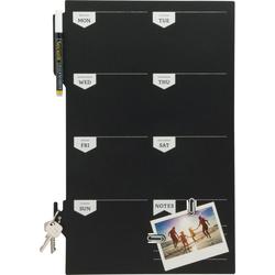 Securit Tafel Wochenplaner, 44,9 cm x 30 cm