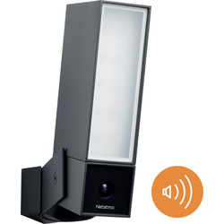 Netatmo Smarte Außenkamera mit Alarmsirene Überwachungskamera (Außenbereich, 1-tlg)