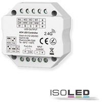 IsoLED Sys-Pro RGBW Push Funk PWM-Mesh-Dimmer LED 1-4 Kanal 12-24V DC 4x3A