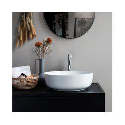 Tikamoon Waschbecken Waschbecken aus Keramik Luna