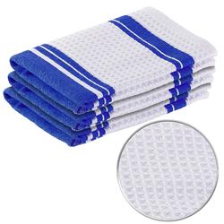Mikrofaser-Küchentuch zum Trocknen & Polieren, 3D-Waffelpiqué, 3er-Set