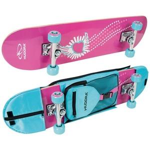 Hudora Skateboard Skateboard Skate Wonders mit Rucksack