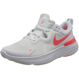 Nike React Miler W white/photon dust/photon dust/laser crimson 42