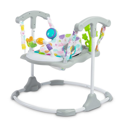 Caretero Spielcenter Babystuhl Kinder Caretero Play-Center Cosmo Grey, Spielcenter Activity