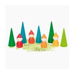 goki Spielfigur Zwergenwald Spielfiguren bunt