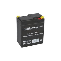 Multipower Multipower Blei-Akku MP9-6A Pb 6V / 9Ah Bleiakkus