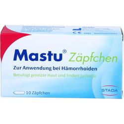 MASTU Zäpfchen 10 St.