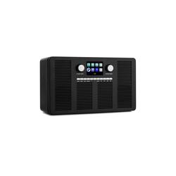 "Auna Vertico Internetradio mit CD-Player IR/DAB+/FM BT 2,4"" HCC Display Radio (10 W, Bluetooth, mit Bluetooth, 2.1 System mit FM/DAB+, WLAN, Bluetooth, CD-Player)"