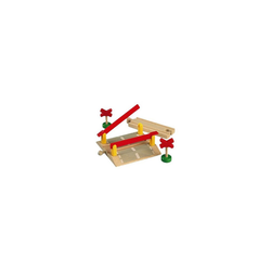 BRIO® Spielzeug-Eisenbahn Bahnübergang