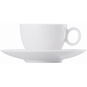 Thomas Loft Espressotasse(1 Obertasse,1 Untertasse), Weiss, 0,08l, 2tlg.