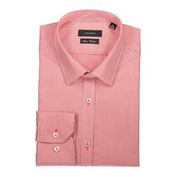 Lavard Rotes Hemd mit dezentem Muster 92914  44/176-182