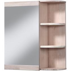 welltime Spiegelschrank Cadiz Breite 60 cm, mit echtholz Eiche modern gekälkt